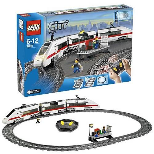 lego 7897 city passenger train lego lego trains