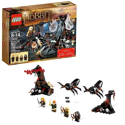 LEGO Hobbit 79001 Escape from Mirkwood Spiders