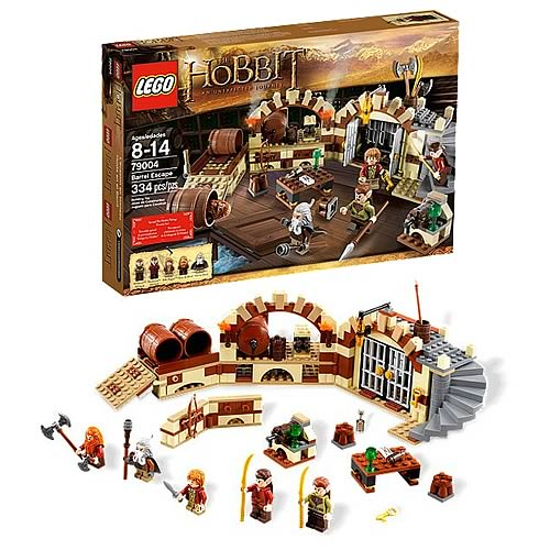 LEGO Hobbit 79004 Escape in the Barrels