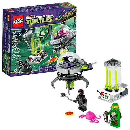 Lego Teenage Ninja Turtles Toys : Lego tmnt kraang lab escape teenage mutant