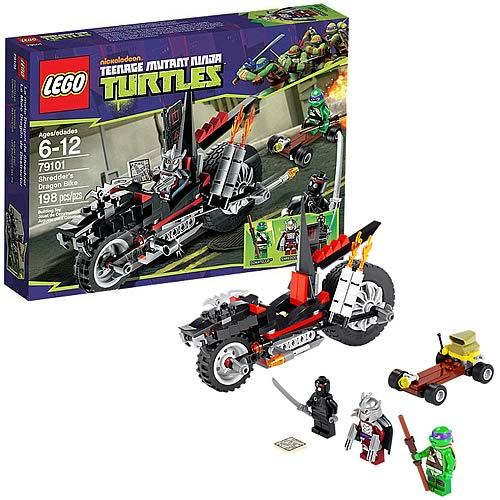 LEGO TMNT 79101 Shredder's Dragon Bike
