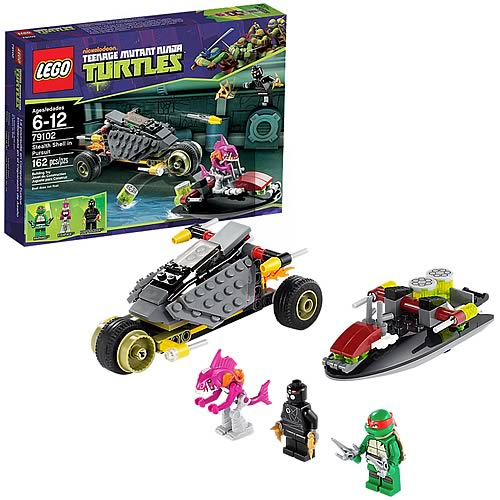 LEGO TMNT 79102 Stealth Shell In Pursuit