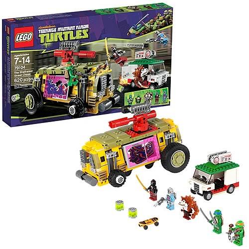 LEGO TMNT 79104 Shellraiser Street Chase