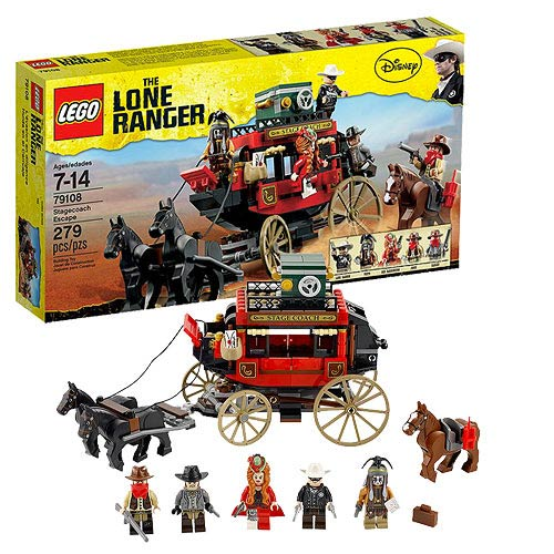 LEGO Lone Ranger 79108 Stagecoach Escape