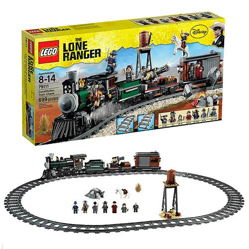 LEGO Lone Ranger 79111 Constitution Train Chase