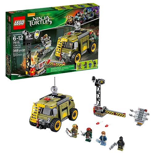 Lego Teenage Ninja Turtles Toys : Lego tmnt turtle van takedown teenage