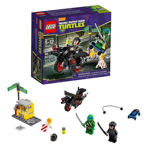 Lego Teenage Ninja Turtles Toys : Lego teenage mutant ninja turtles karai bike escape