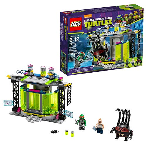 LEGO TMNT 79119 Mutation Chamber Unleashed