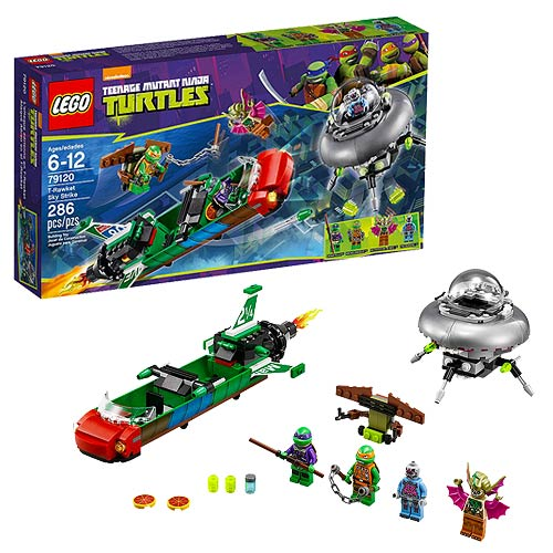 LEGO Teenage Mutant Ninja Turtles 79120 T-Rawket Sky Strike