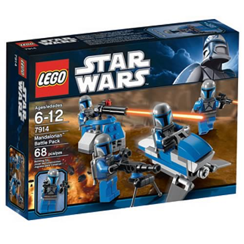 LEGO Star Wars 7914 Mandalorian  Battle Pack Case