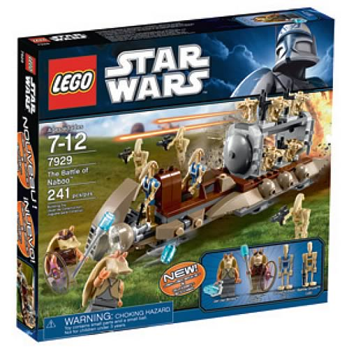 LEGO Star Wars 7929 The Battle Of Naboo  Case