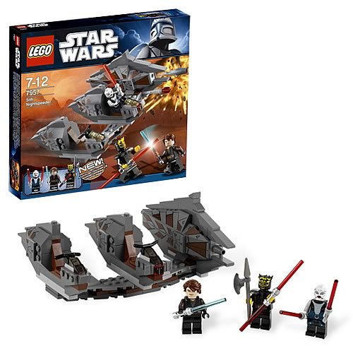 LEGO Star Wars 7957 Sith Nightspeeder Savage Opress Case