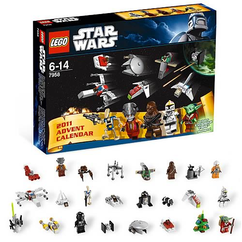 LEGO 7958 Star Wars Advent Calendar Case