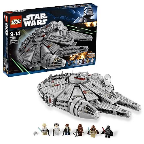 LEGO Star Wars 7965 Millennium Falcon Case