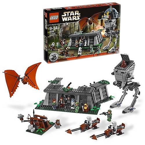 lego 8038 star wars endor battle playset - lego - star wars