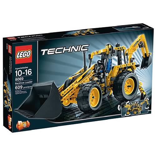 LEGO Technic 8069 Backhoe Loader Case