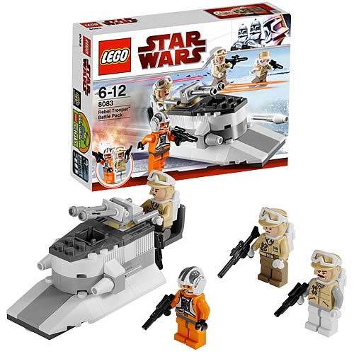 LEGO Star Wars 8083 Rebel Trooper Battle Pack