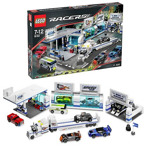 LEGO 8154 Racers Brickstreet Customs