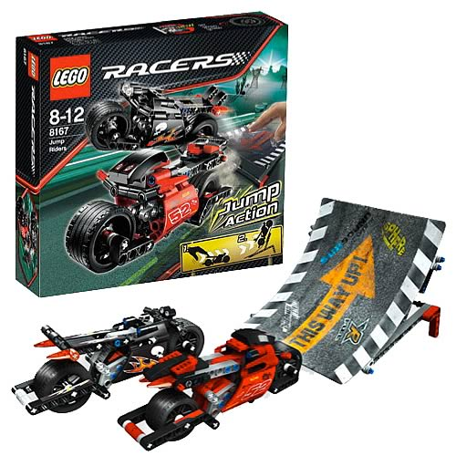 LEGO 8167 Racers Jump Riders