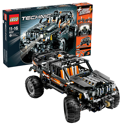 lego 8297 technic off roader lego lego technic. Black Bedroom Furniture Sets. Home Design Ideas