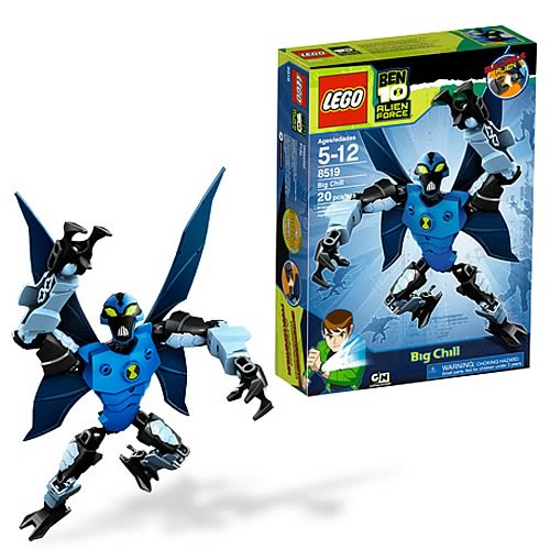LEGO Ben 10 8519 Big Chill Constructable Figure