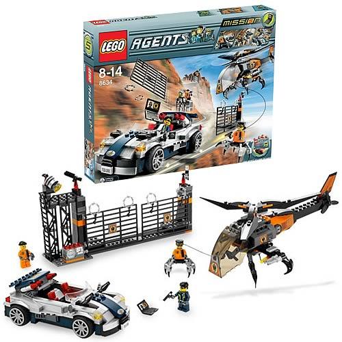 LEGO 8634 Agents Mission 5: Turbo-Car Chase - Lego - LEGO ...