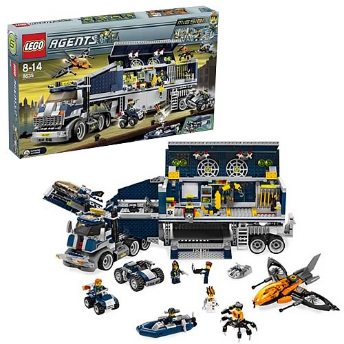 Lego Agents Mission 6 LEGO 8635 Agents Missi...