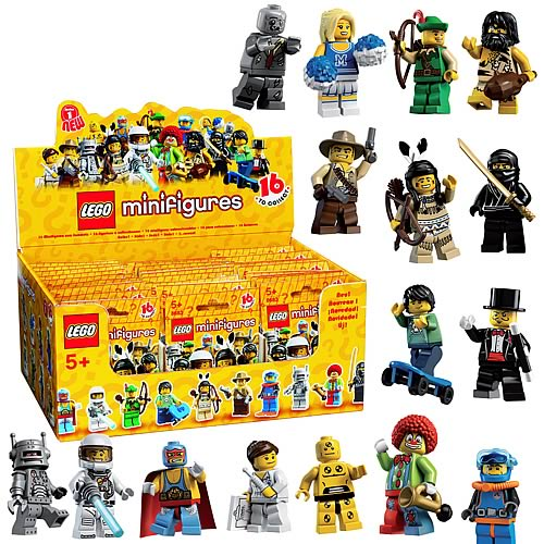 LEGO Minifigures Series 1 Display Box