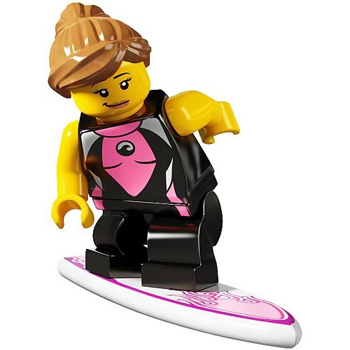 LEGO Minifigures Series 4 Surfer Girl
