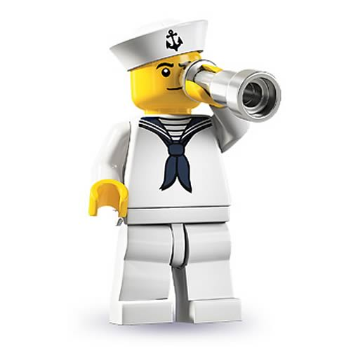 LEGO Minifigures Series 4 Sailor