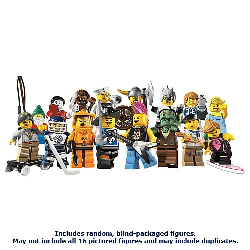 LEGO 8804 Minifigures Series 4 Random Blind Packed Figure