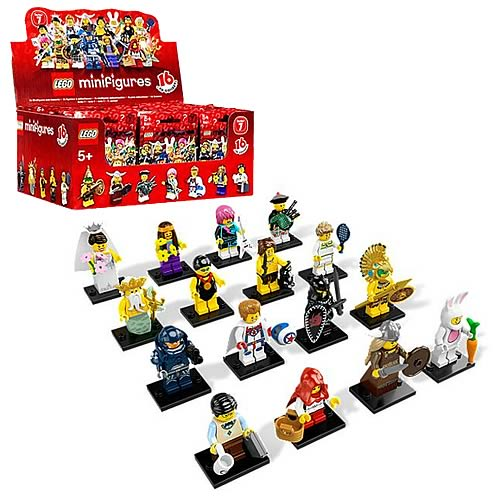 LEGO 8831 Minifigures Series 7 Display Box (60 Figures)