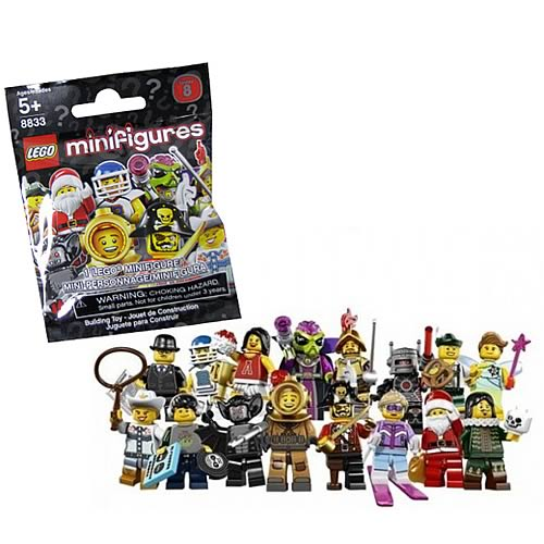 LEGO 8833 Minifigures Series 8 10-Pack
