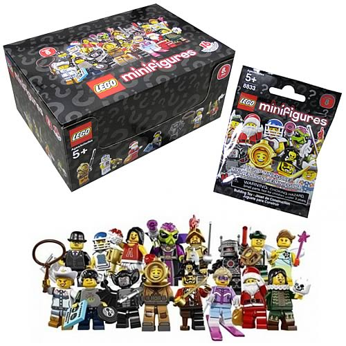 LEGO 8833 Minifigures Series 8 Display Box (60 Figures)
