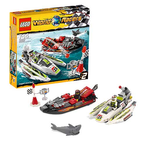 LEGO World Racers 8897 Jagged Jaws Reef