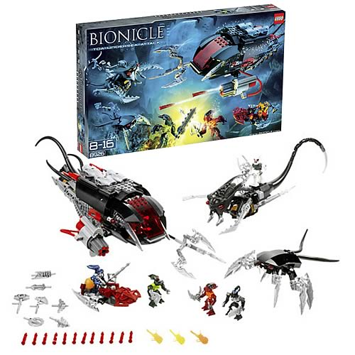 Bionicle 8926 Toa Undersea Attack