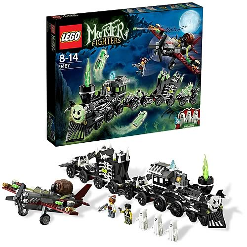 LEGO Monster Fighters 9467 The Ghost Train