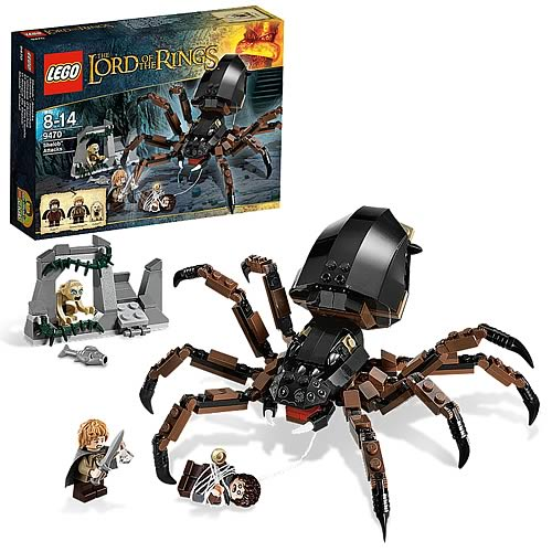 LEGO Lord of the Rings 9470 Shelob Attacks
