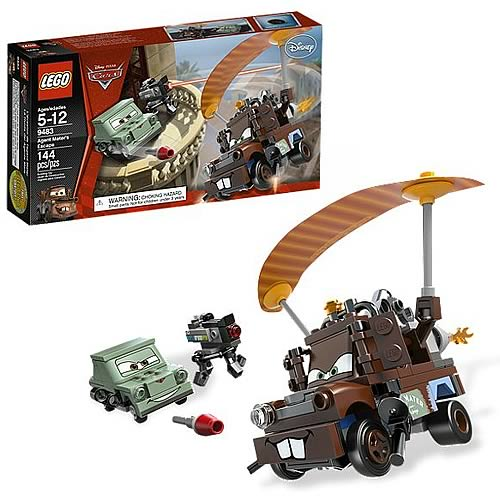 LEGO Cars 9483 Agent Mater's Escape