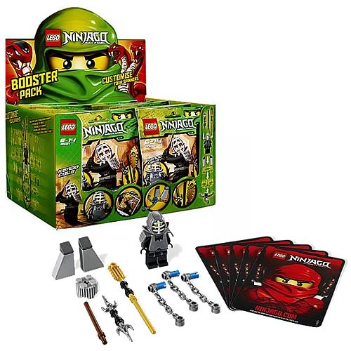 LEGO Ninjago 9551 Kendo Cole Booster Pack