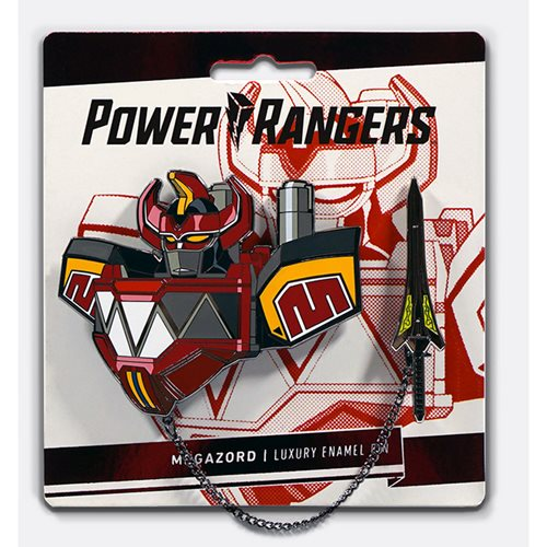 Mighty Morphin Power Rangers Megazord Lapel Pin Set