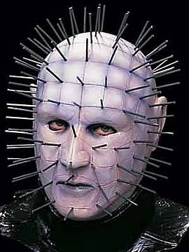 Hellraiser: White Pinhead Mask