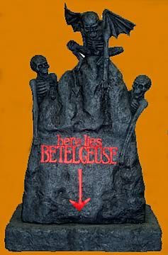 Beetlejuice Tombstone Replica