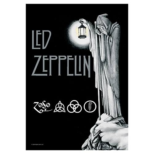 Led Zeppelin Stairway to Heaven Fabric Poster Wall Hanging