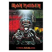 Iron Maiden A Real Dead One Fabric Poster Wall Hanging