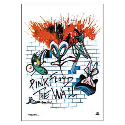 Pink Floyd The Wall Fabric Poster Wall Hanging