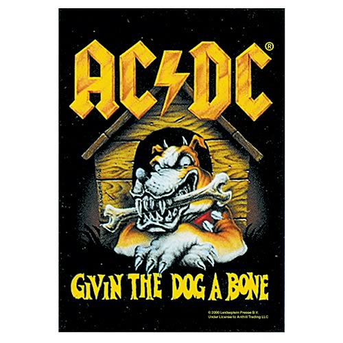 AC/DC Give The Dog a Bone Fabric Poster Wall Hanging