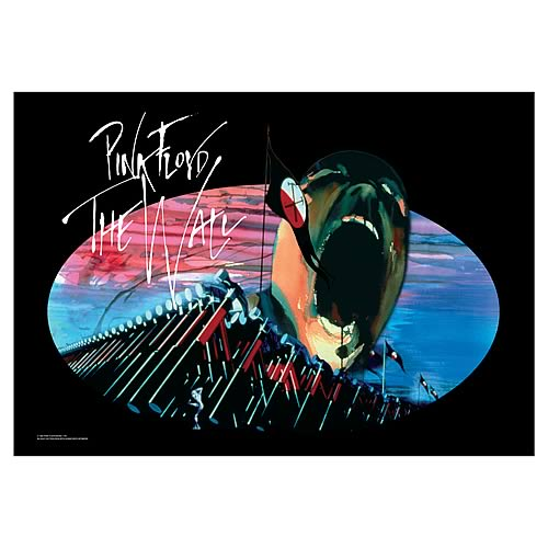 Pink Floyd The Wall Marching Hammers Fabric Poster