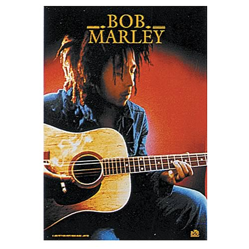 Bob Marley Acoustic Guitar Fabric Poster Wall Hanging