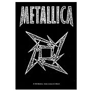 Metallica Ninja Star Fabric Poster Wall Hanging